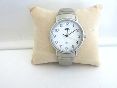 Timex Indiglo Mens Watch Silver Tone Expansion Band by ediesbest on Etsy
