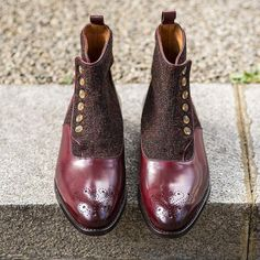 J.FitzPatrick Footwear - @jfitzpatrickfootwear button boots on sale now for £328 (ex VAT £273.33) for Black Friday thru Cyber Monday. Dont miss out! Go to www.jfitzpatrickfootwear.com to get your deal!!!!