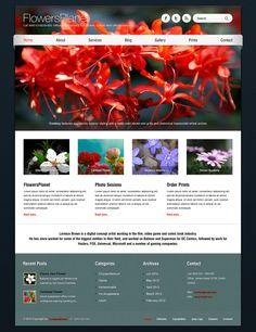 Barcelona WP Theme - Flowers Planet Showcase by ait-themes on DeviantArt Lorenzo Brown, Artist Film, Order Prints, Wordpress Theme, Planets, Barcelona, Web Design, Exterior, Wicked