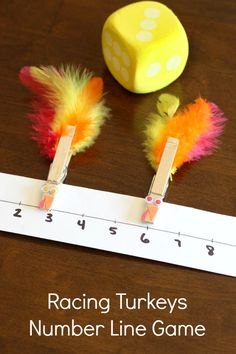 An exciting turkey game that teaches numbers, number recognition, subitizing and more this Thanksgiving!