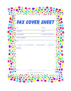 Fax Templates