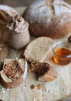 Wanting to make bread from your own kitchen? Try this delicious Homemade Whole Wheat Honey Oat Bread Recipe with a side of cinnamon butter!