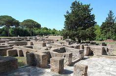 Roman city of Ostia Antica