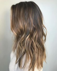 Balayage Hairstyles 2018 with Hair Color Spring Ideas - Anastasia Slyvinska. Balayage Hairstyles 2018 with Hair Color Spring Ideas - Anastasia Slyvinska. Lovely Hairstyle for Shoulder Length in 2020 Soft Balayage, Hair Color Balayage, Subtle Balayage Brunette, Subtle Balyage, Baylage, Balayage Hair 2018, Partial Balayage Brunettes, Highlights For Brunettes, Balyage Long Hair