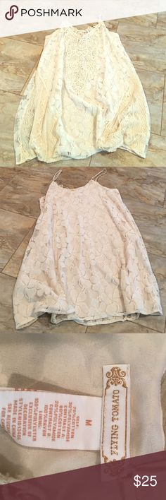 ‼️ NWOT ‼️ Flying Tomato Lace Dress This dress is from an online boutique called The Mint Julep Boutique. Great quality clothing!! Flying Tomato Dresses Midi