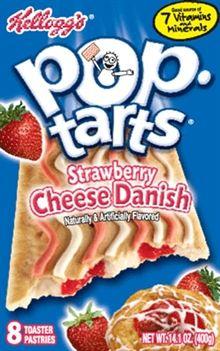 Pop Tarts: Strawberry Cheese Danish