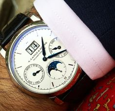 A watch can make man confident, stylish and sophisticated.