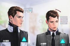 Connor RK800 and RK900 Detroit: become human