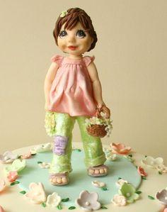 spring girl cake - Cake by tatlibirseyler