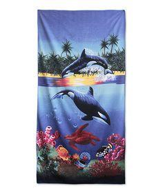Look what I found on #zulily! Blue Marina Beach Towel #zulilyfinds