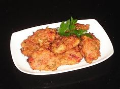 Authentic Greek Recipes: Greek Tomato Fritters (Domatokeftedes)
