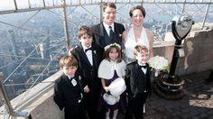 Family photo - Empire State Wedding - New York