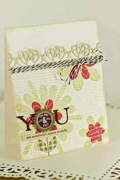 Card by Erin Lincoln for Papertrey Ink (February 2012).