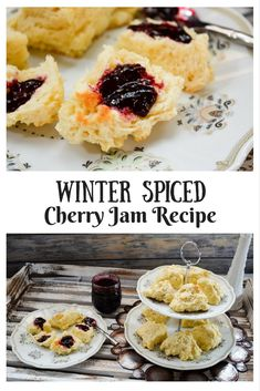 If you want a jam that screams winter comfort, this Winter Spiced Cherry Jam Recipe is the one! Cherry Jam Recipes, Jelly Recipes, Fruit Recipes, Breakfast Recipes, Dessert Recipes, Drink Recipes, Easy Desserts, Christmas Jam, Christmas Brunch