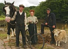 The Edwardian Farm - I can't wait to watch all the episodes on this follow-up to Victorian Farm.