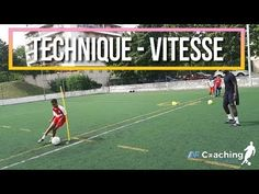 AF Coaching Foot : Séance Spécifique attaquant - YouTube