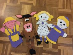 Students can create these puppets and then they do a play related to one story teller that the teacher told us.