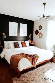 Mid Century Modern Bedroom Design Ideas « Home Decoration - Home Design Mid Century Modern Bedroom, Home Design, Design Ideas, Wall Design, Diy Design, Design Trends, Floral Design, Home Bedroom, Bedroom Inspo