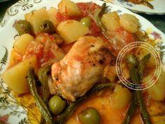 cuisses de poulet aux legumes au four