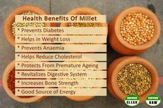#Millets, a group of grains and a staple diet of our ancestors, are loaded with nutritional benefits.