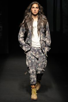 Willy Cartier on the catwalk for Jean Paul Gaultier, Givenchy, Diesel Black Gold, Miharayasuhiro, John Galliano, Hood by Air, Raif Adelberg, Marithé + François Girbaud, Quentin Veron and Elliot Evan  …. who's your favorite?