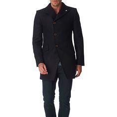 VIVIENNE WESTWOOD  Asymmetric wool-blend coat  £800.00  Selfridges