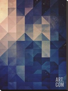 Untitled (hystyry) Stretched Canvas Print by Spires at Art.co.uk