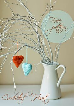 Free Heart pattern and My Rikki Bear | LillaBjörn's Crochet World