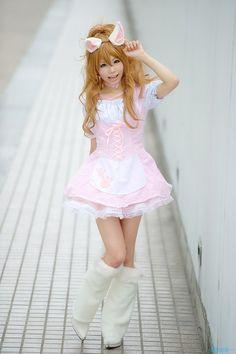 fantasylolita:  tempestskyinwonderland:  cosplaygirl:  ~MPzero~ [コスプレイベント画像][Nikon D3]: 姫宮 まほれ さん[Mahore.Himemiya] 2010/08/08 TFT (Ariake TFT Building)