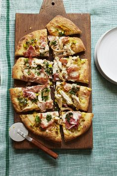 Each slice is piled with toppings from your favorite sandwich