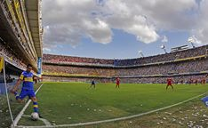La Bombonera, the home of the Argentinian club Boca Juniors. Spanish Pronunciation, Professional Soccer, Football Stadiums, Sports Clubs, Best Vibrators, Pitch, The Neighbourhood, Dolores Park, Around The Worlds