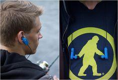 FONES DE OUVIDO - TAGS WIRELESS EARBUDS  Tags é um sistema de auscultadores sem fios acessível que pares com qualquer dispositivo Bluetooth, projetado pelo pessoal da Outdoor Tech.