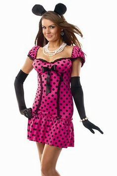 Cute Girl Sweet Minnie Costume
