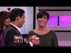 Kris Jenner and Mario Lopez Getting Sexy with Booty Parlor