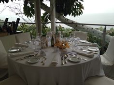 Quattro Passi in Nerano.  A Michelin 2-star restaurant located near Sorrento! #studyabroad #eatwell  www.santannainstitute.com