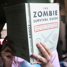 You never know when you'll need it!  Fancy - The Zombie Survival Guide