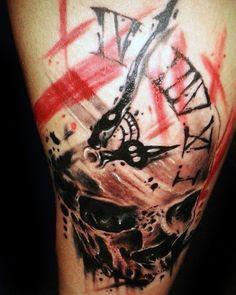 Image result for polka trash tattoo