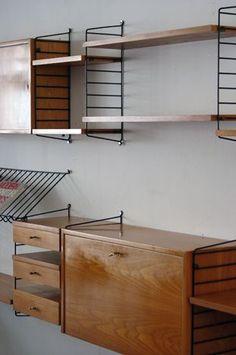 The Modern Warehouse - Furniture - String System in Teak