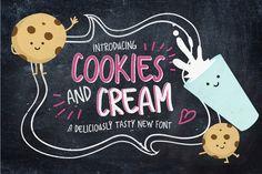 Cookies And Cream Typeface by Nicky Laatz on Creative Market