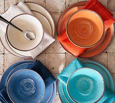 Swirl Melamine Dinnerware Collection #potterybarn