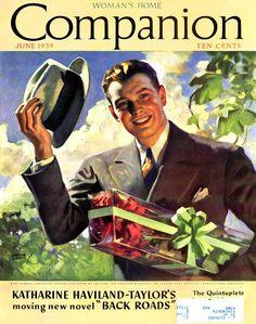 Andrew Loomis - Woman's Home Companion Magazine cover (June 1939)