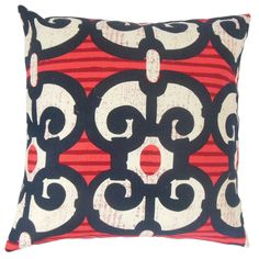Boyana Cotton Throw Pillow