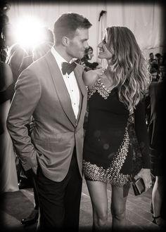 Gisele Bündchen y Tom Brady en la gala 2013.