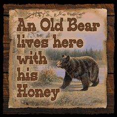 Humorous rustic wood signs for your wild side! Ready to hang, these thick, black-finished wood signs are sure to lighten the mood. Black Bear Decor, Black Forest Decor, Country Decor, Rustic Decor, Rustic Wood, Rustic Crafts, Country Living, Farmhouse Decor, Diy Crafts