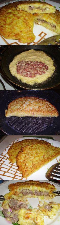 Вкусные чебуреки из кабачков с фаршем   Рецепты моей мамы