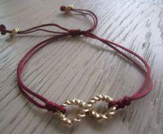 Handmade Infinity Friendship Macrame Bracelet by MahsanAmoui