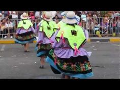 ▶ Peruvian Dancing, Traditional Clothing & Music in Chimbote - YouTube