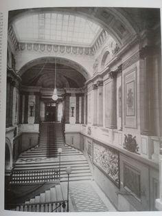 La escalera Imperial del Ministerio de Marina | Investigart
