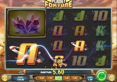 Игровой автомат Planet Fortune с выводом денег   Компания Play'n Go выпустила игровой автомат Planet Fortune для любителей космической тематики. Вы будете выводить из него реальные выплаты, составляя комбинации на 40 линиях. Получать крупные суммы денег помогут фриспины и дополнительные функции.