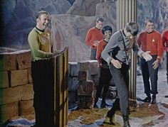 Star Trek [ this cast had such great behind-the-scenes photos. lol ]